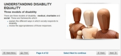 disability course